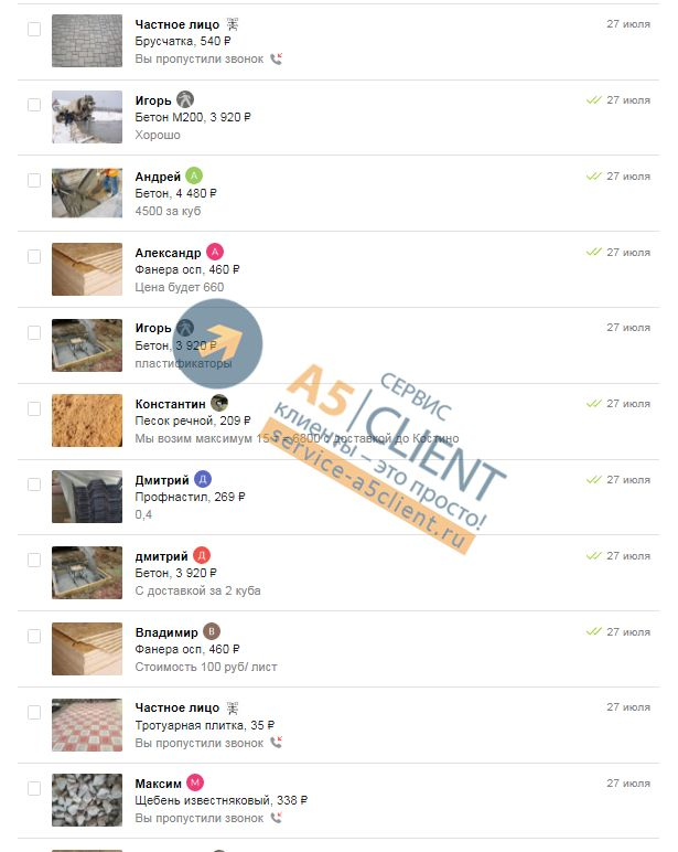 Как ежедневно получать от 13 заявок по строительным материалам